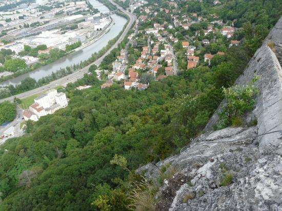 sortie avant le fort dans la bastille à Grenoble