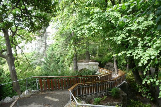 chemin du retour via de la bastille à Grenoble