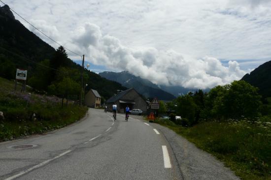 Alpe du grand serre - rendez vous de cyclistes