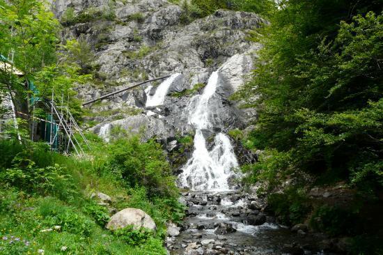 au départ de la via de la cascade - alpe du grand serre