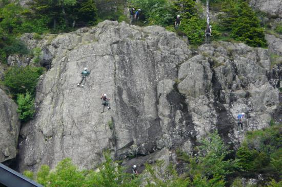 ecole d 'escalade alpe du grand Serre - aujourd'hui les militaires