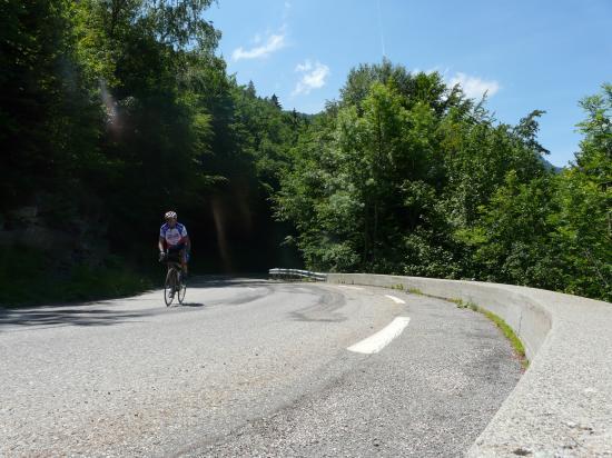 Montée à vélo Alpe du Grand serre