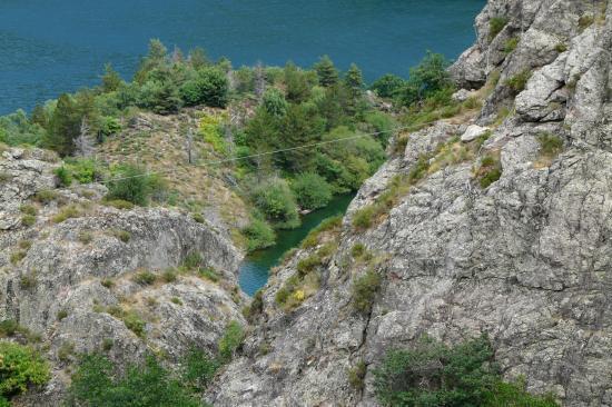 la tyrolienne - via de villefort - lozère