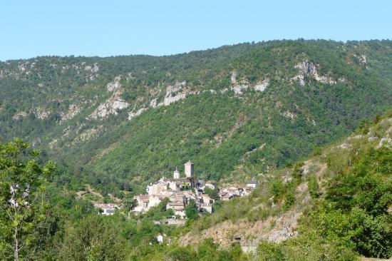 village des gorges du Tarn