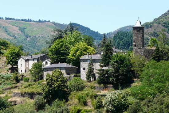 circuit vélo corniche des Cevennes : les villages de Lozère