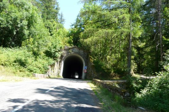 tunnel des marquaires - avant Rousses (lozère)