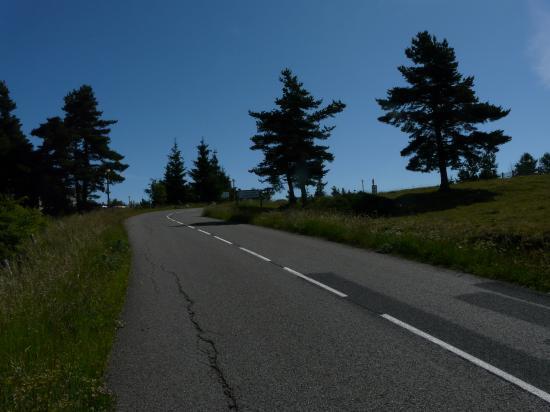 dernière rampe avant le mont Lozère (48)