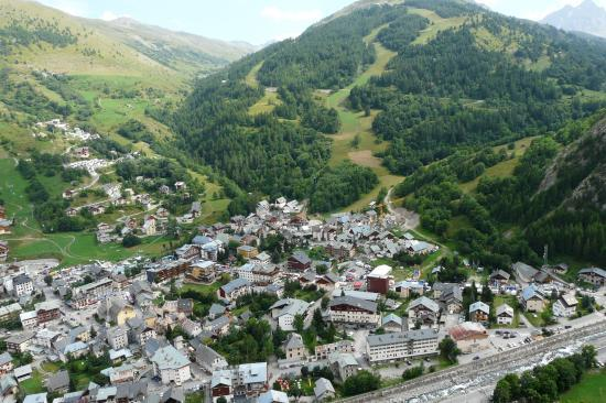 depuis Poingt Ravier, vue sur Valloire