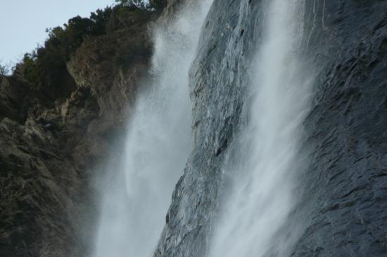 cascade de la Pisse ...ça tombe dru et tout à cöté !