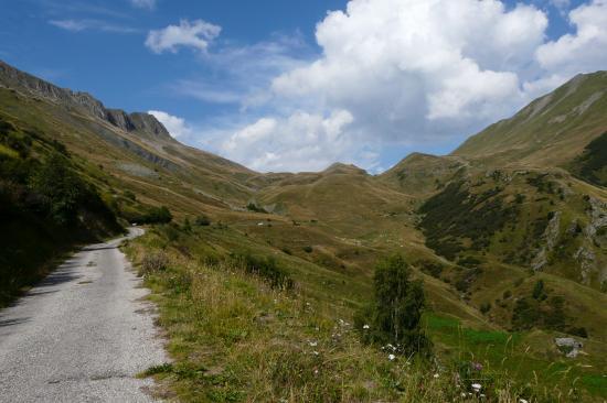 En vue du col du Sabot - Vaujany - Isère
