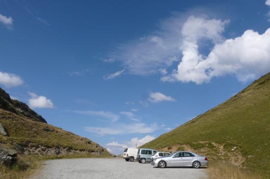 parking d ' arrivée du col du Sabot - Vaujany - Isère