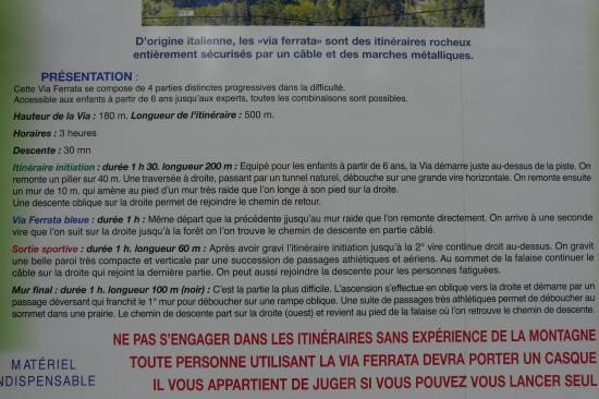 description de la via d' Arthouze
