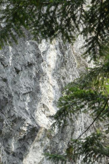 le dernier mur - via du rocher d'Arthouze