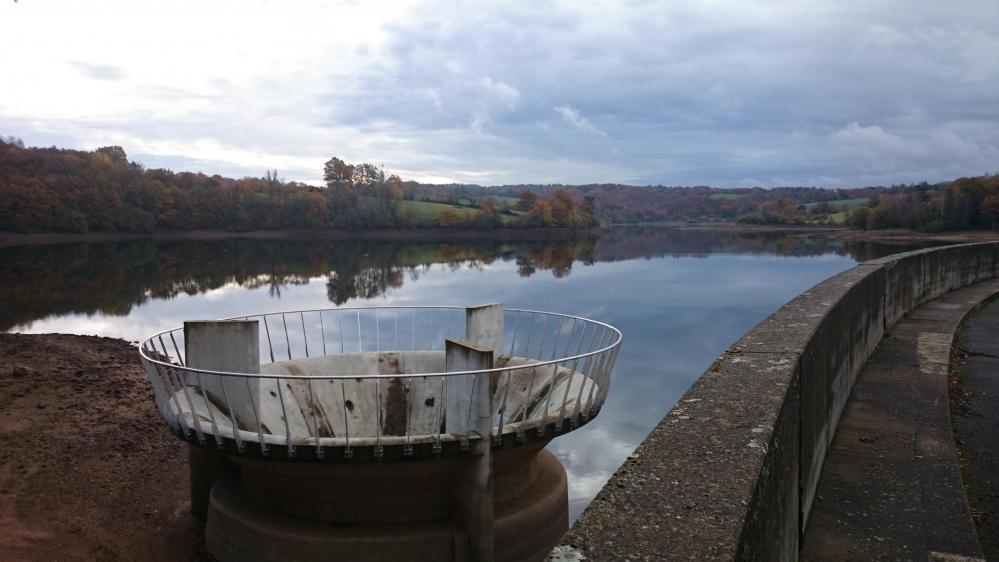 le lac réservoir du Bages