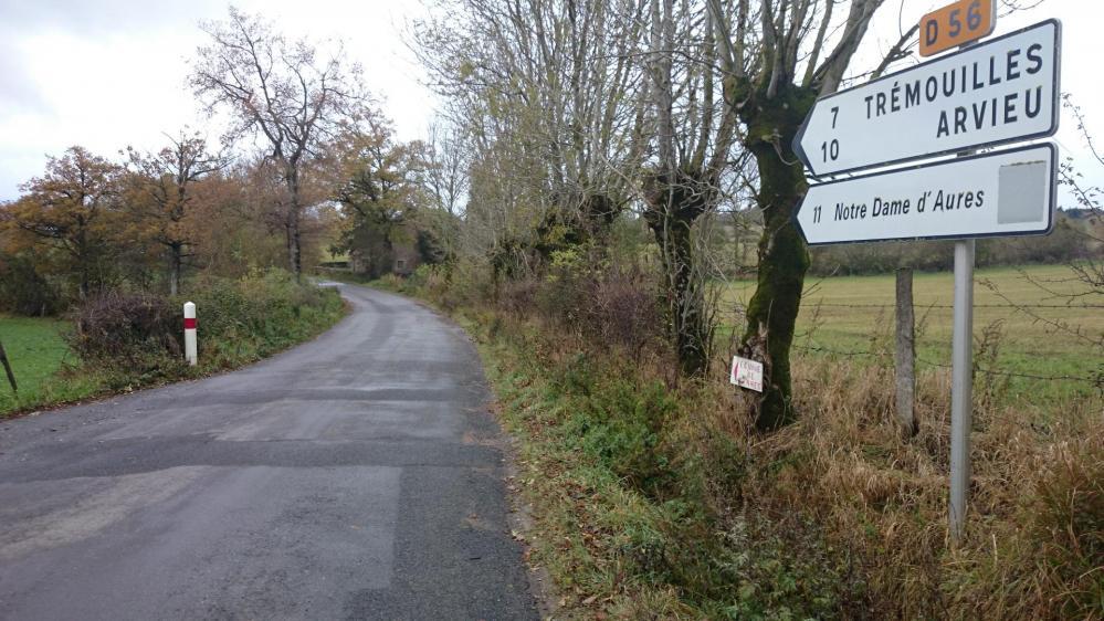 les petites routes calmes du circuit