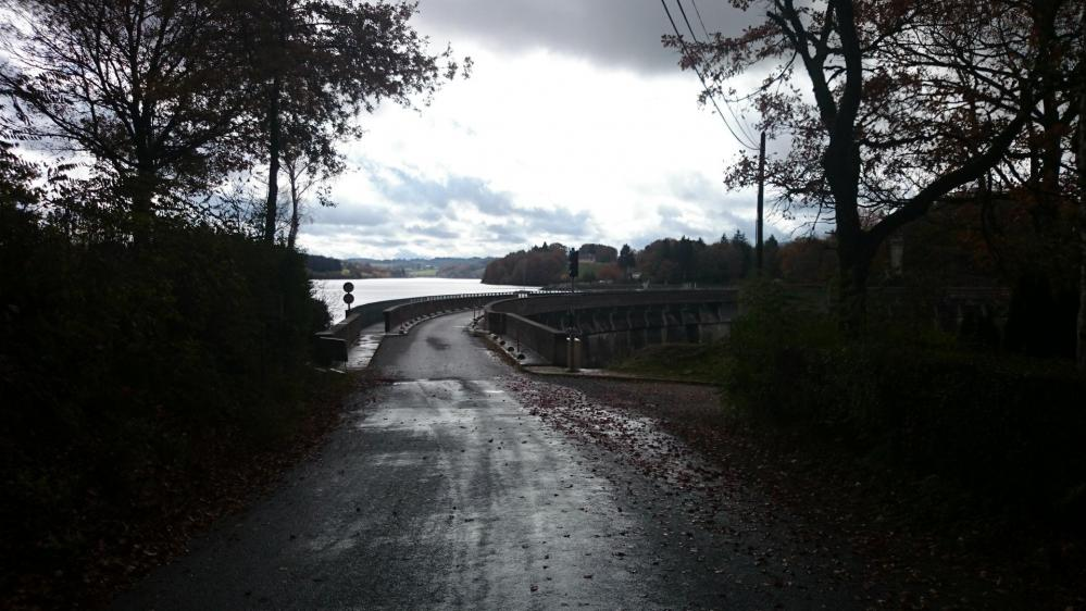 Le barrage de Pareloup