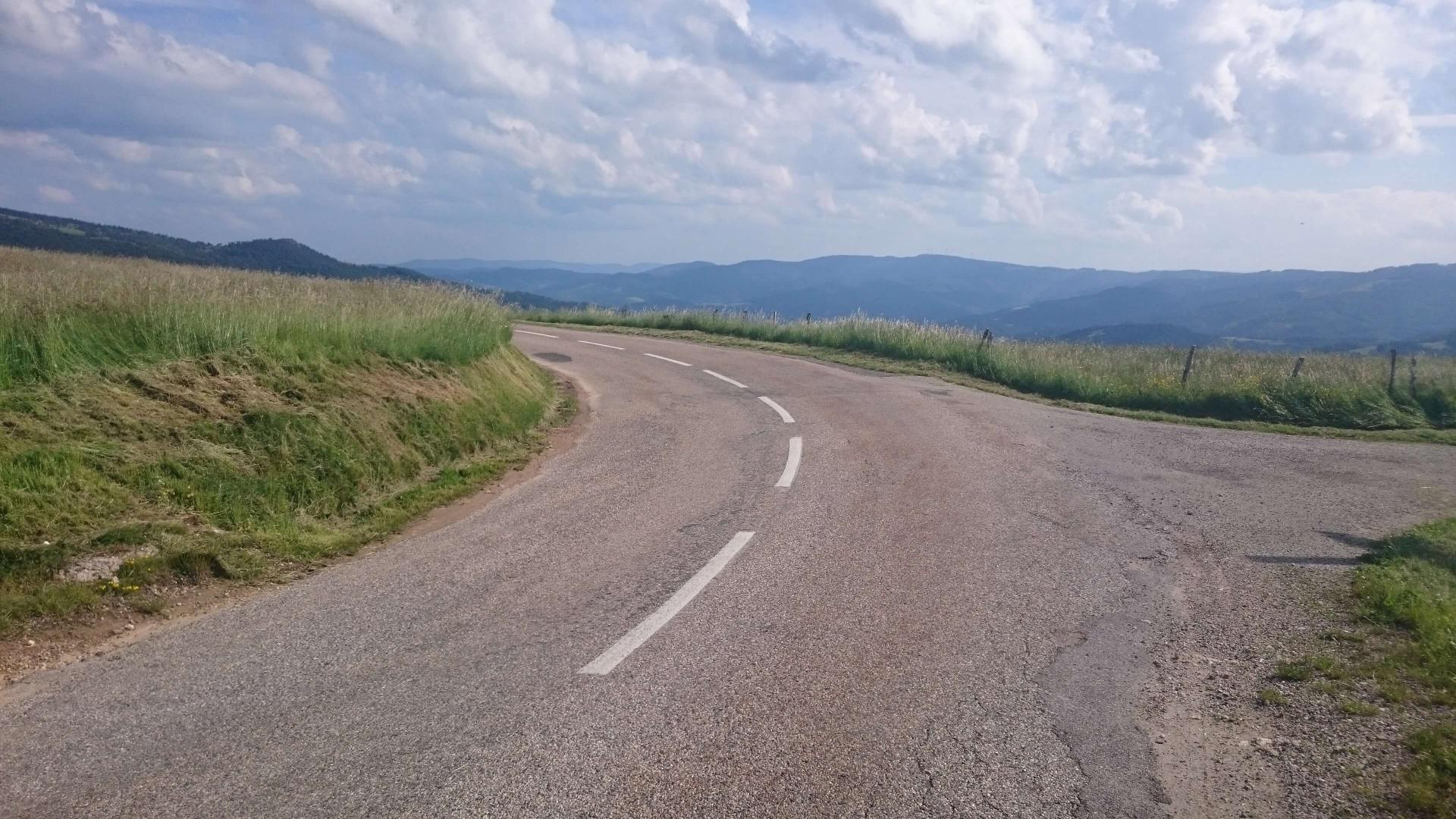 """Circuit vélo """"Demie Ardéchoise"""" depuis St Felicien"""