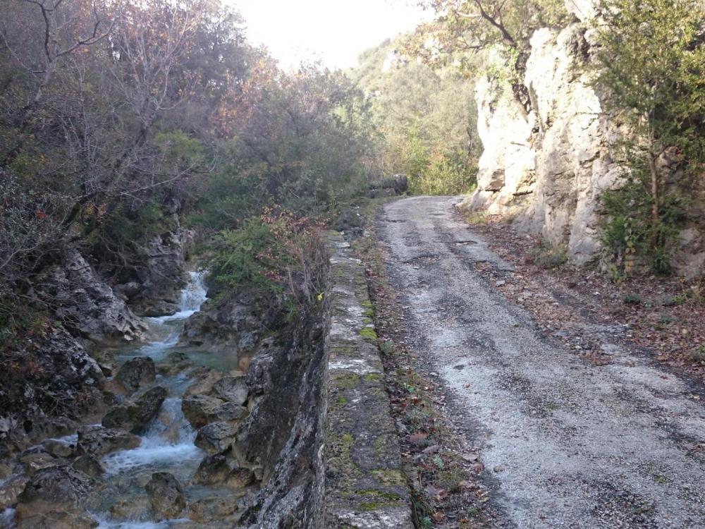Suivre le torrent par la route