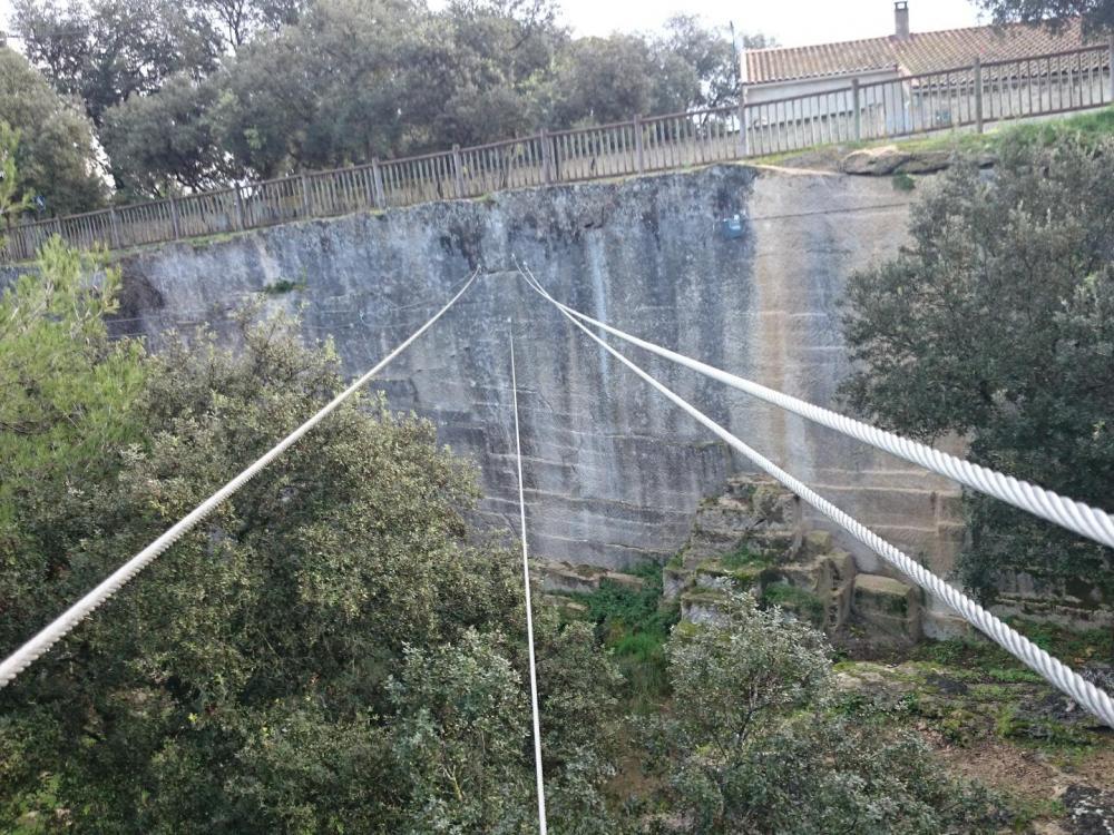 Le pont népalais de la via de Boisseron