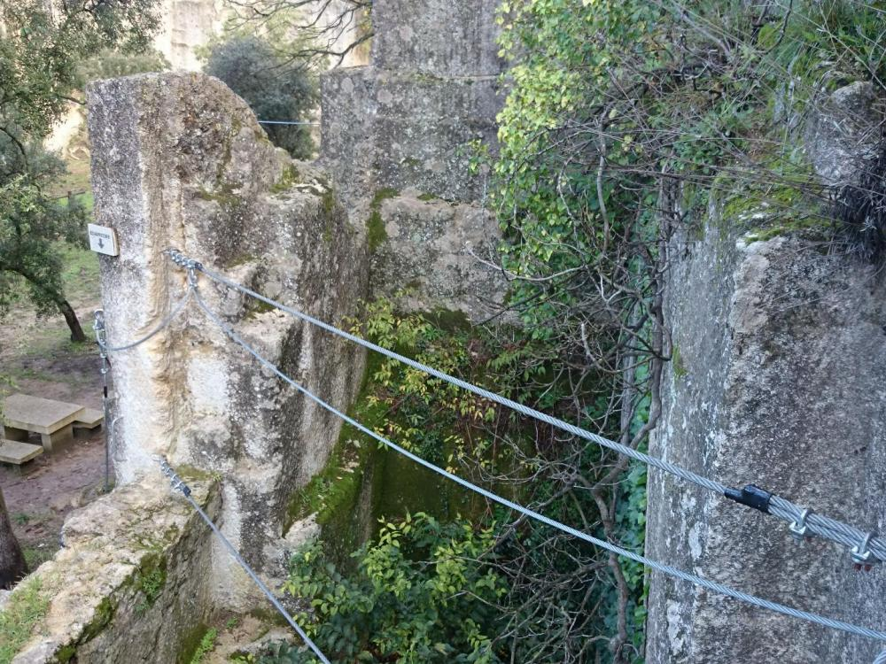 Via ferrata de la carriere a Boisseron