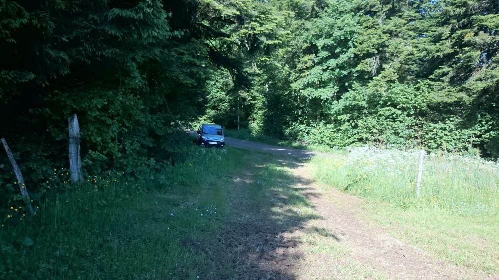 Stationnement Baume du Mont à Reugney