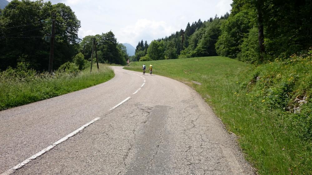 Routes tranquilles vers Aillon le Jeune