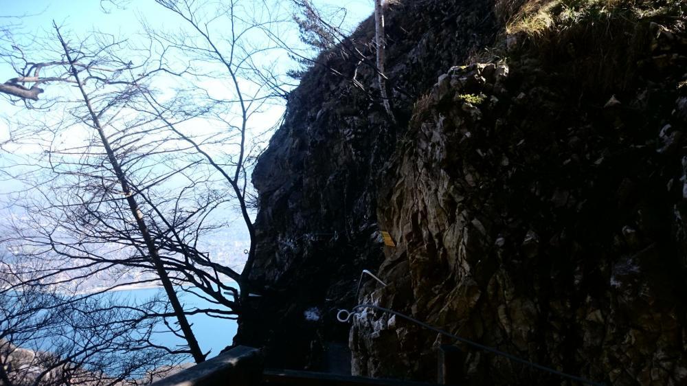Via Primevère à Oreille d 'ours, début de la via et de la traversée