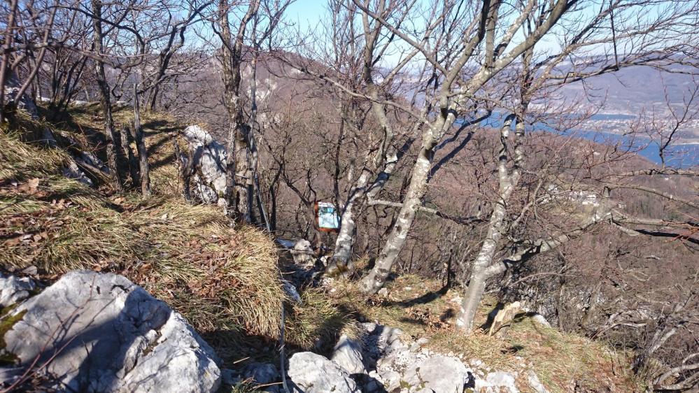 Départ de la via ferrata du rocher du Cornillon
