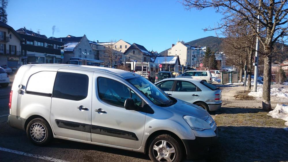Stationnement à Villard de Lans