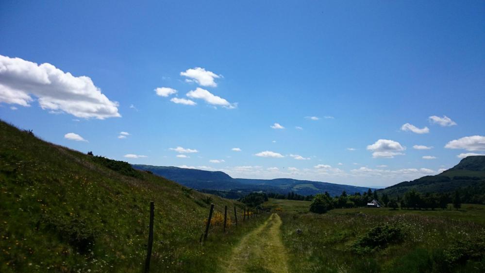 Retour vers le Mont Dore