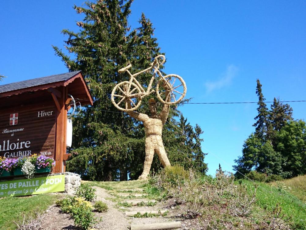 l' accueil des cyclistes au télégraphe !