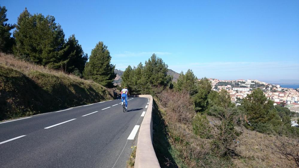 retour vers Collioure et Argelés