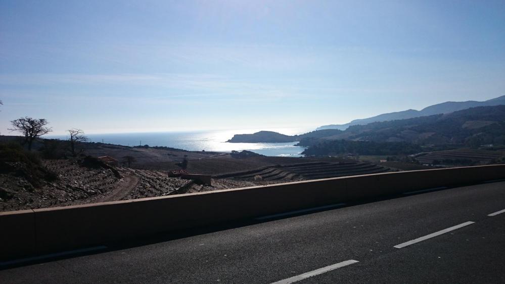 La côte vers Banyuls