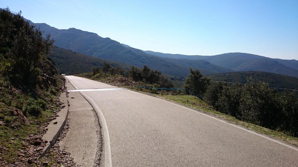 Belle descente du col de Banyuls côté espagnol !