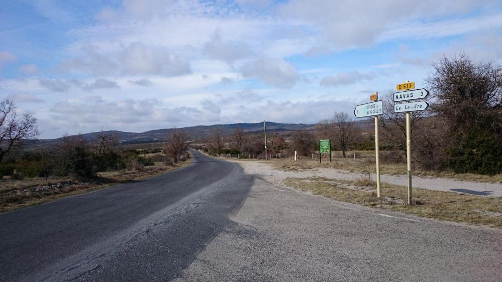 Après Montdardier, sur le plateau avant de redescendre à Navacelles