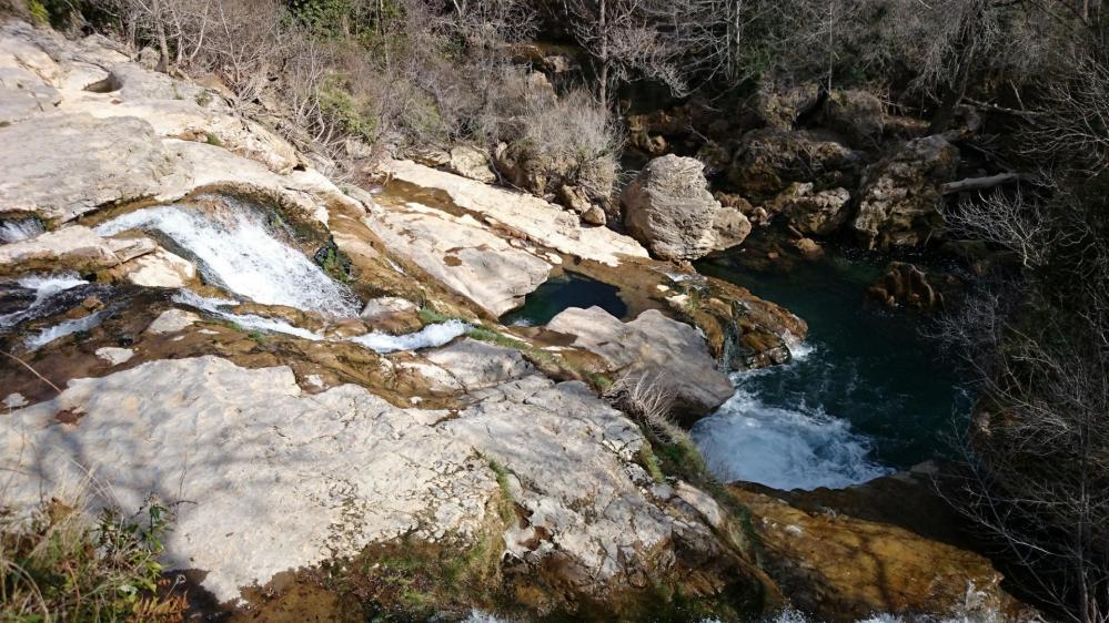 Cascades sur la Vis à Navacelles