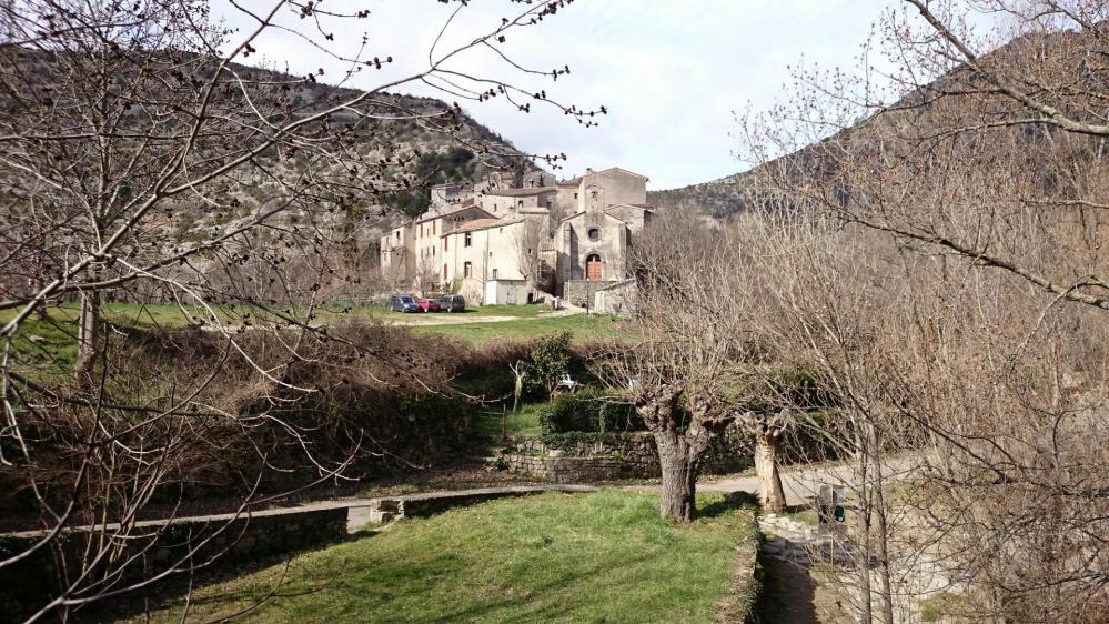 Navacelles, le hameau