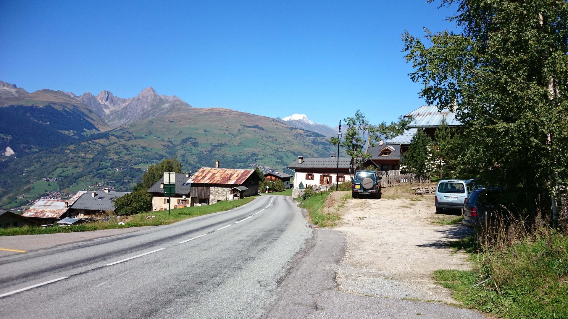 Mont E V Lo Aime Belle Plagne Depuis Aime Savoie