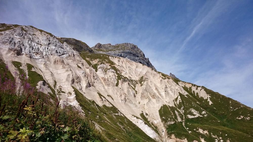 le petit Mont est là ... juste au dessus du col des saulces