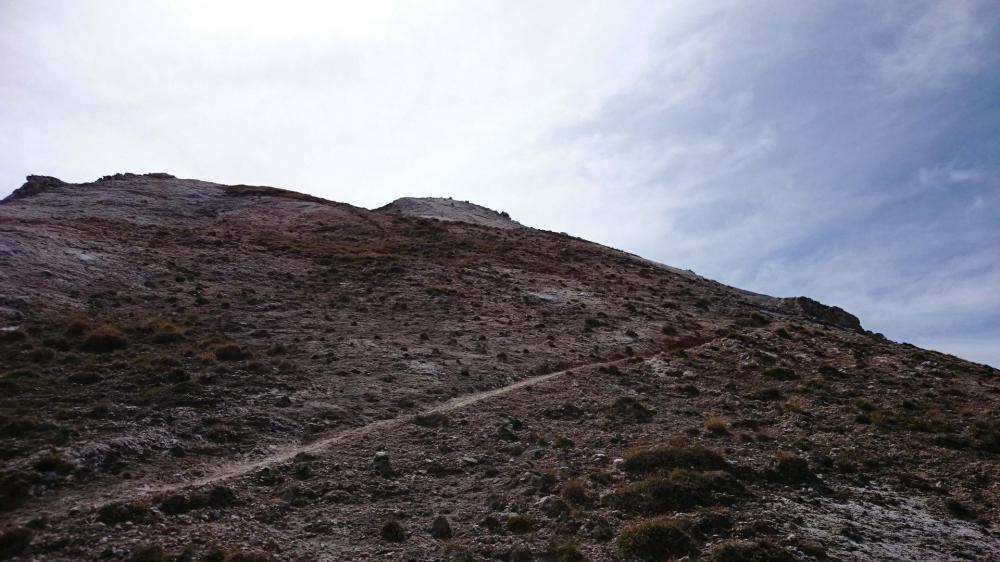 A l' assaut du petit Mont Blanc