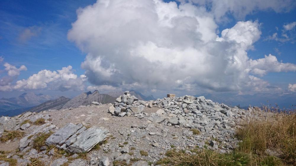 le sommet du Charvin