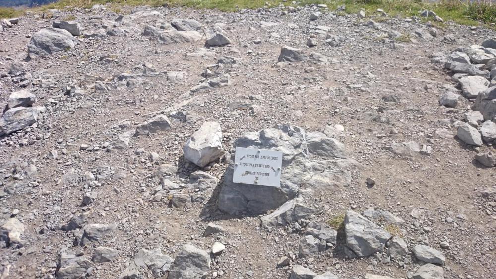 la descente du Charvin, via ferrata ou sentier pédestre