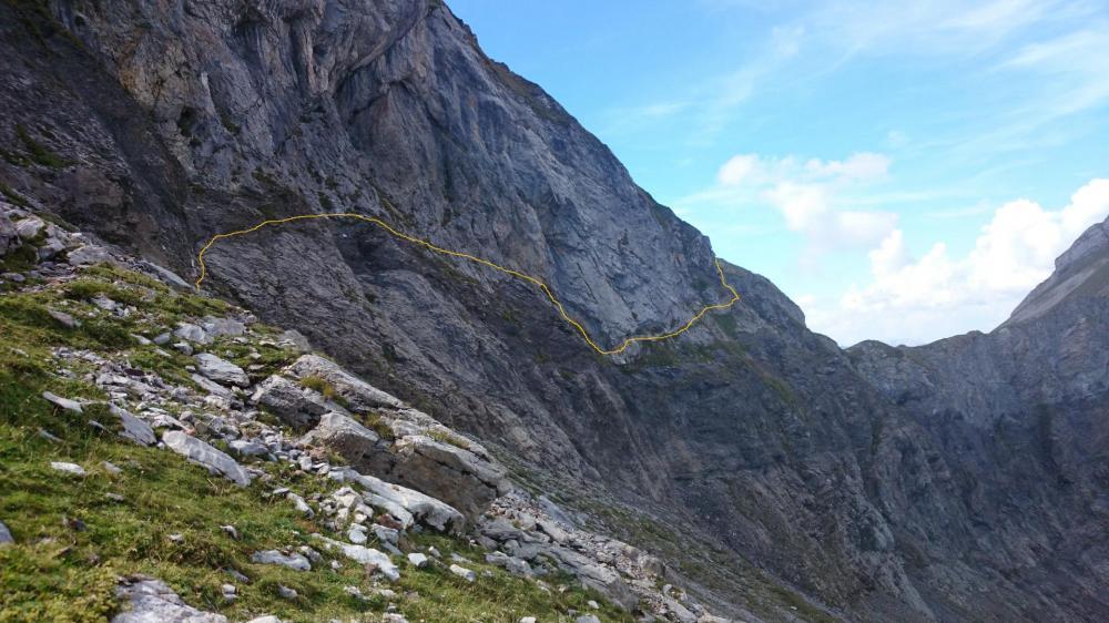 L' itinéraire du Pas de l' Ours - Via d'Ugine