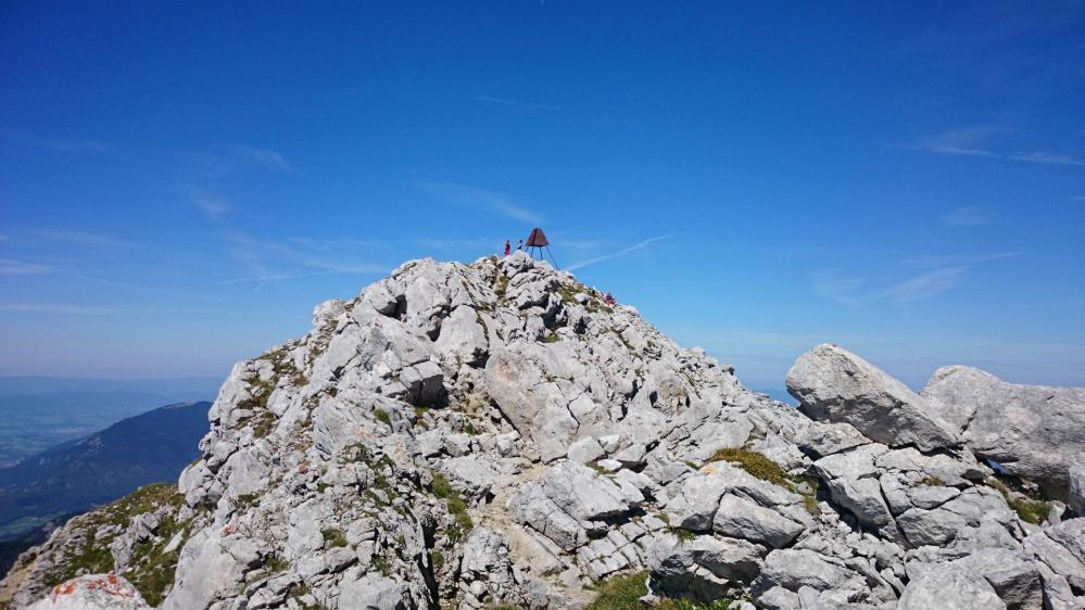 Le sommet du Mont Trélod