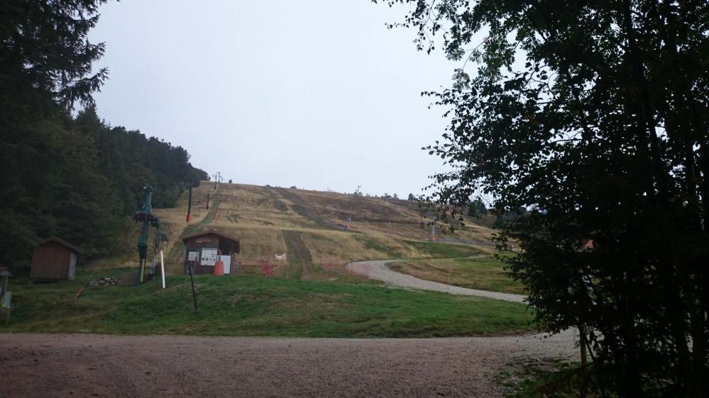 Les pistes de ski de la station de Prabouré
