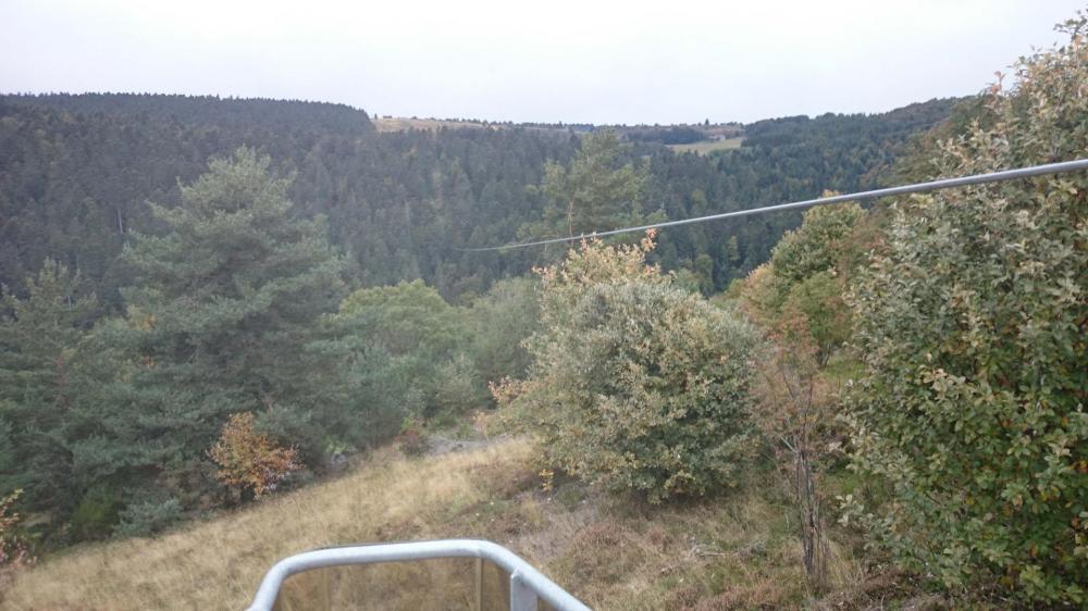 La tyrolienne géante de Prabouré (hors via ferrata)