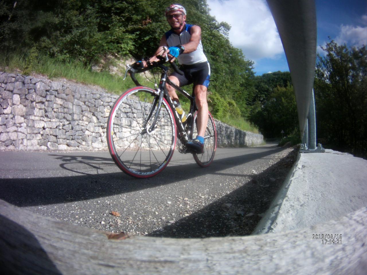 circuit vélo autour de l' Albarine