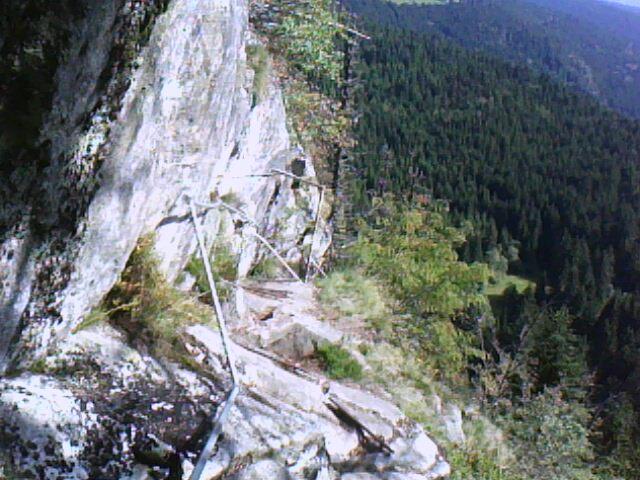 le sentier aménagé des rochers du Hirschsteine (Vosges)