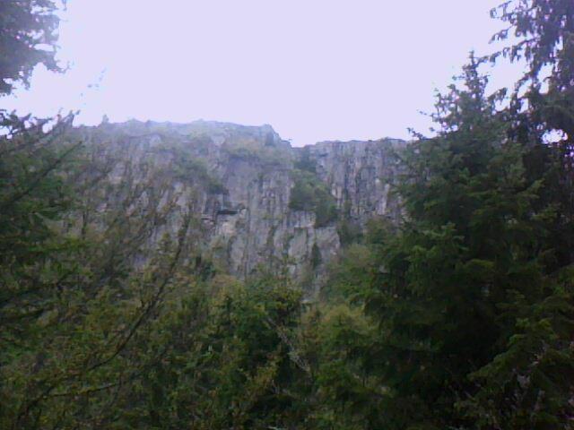 Les rochers du Tanet (vosges)