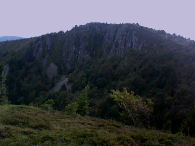 Les rochers du Tanet (Vosges) - futur site de via ferrata ?
